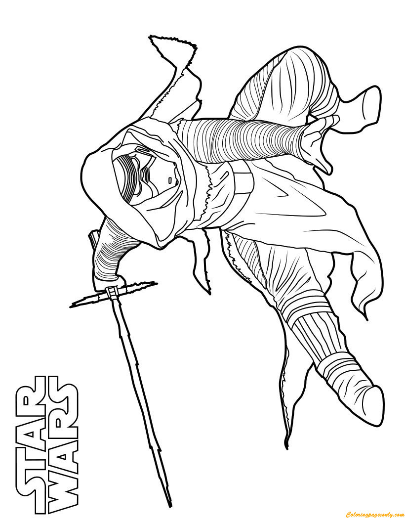 820x1060 Star Wars Kylo Ren Coloring Page Pages