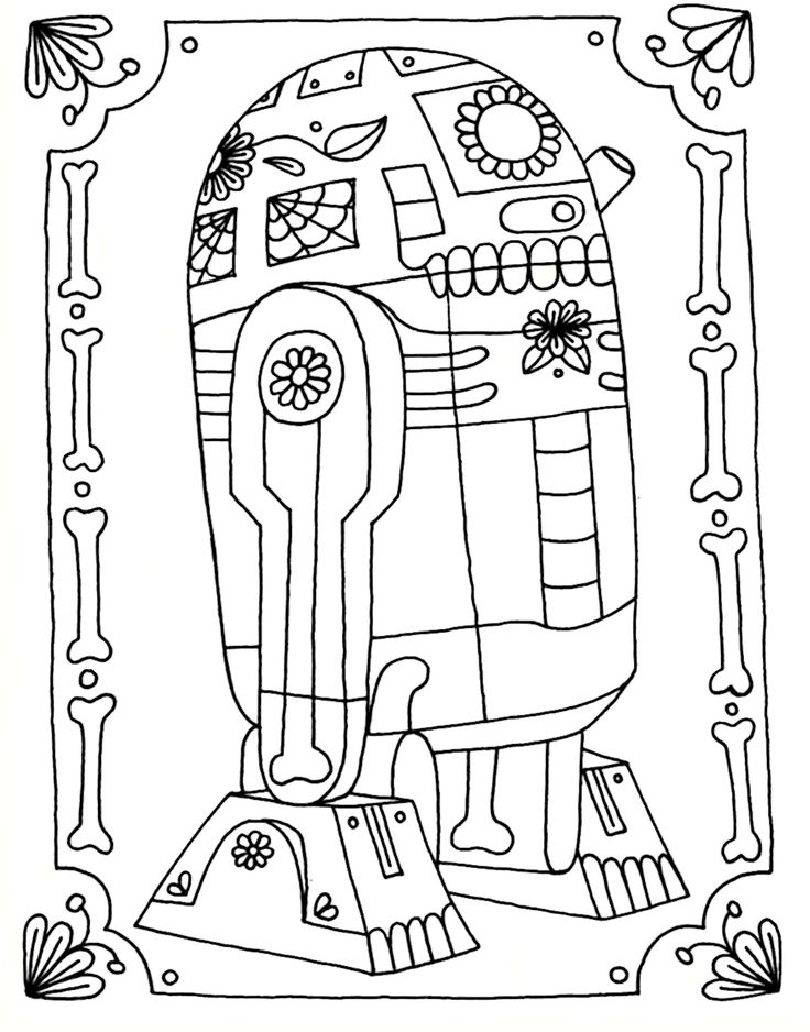 Star Wars Adult Coloring Pages