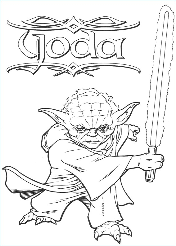 567x794 Battle Droid Head Star Wars Coloring Pages
