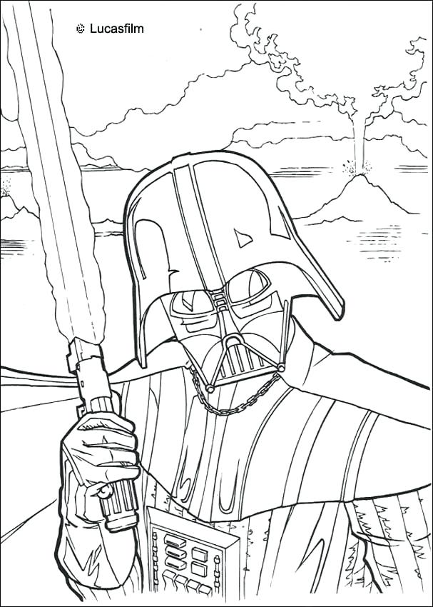 607x850 Star Wars The Clone Wars Coloring Pages Star Wars Battle Droids