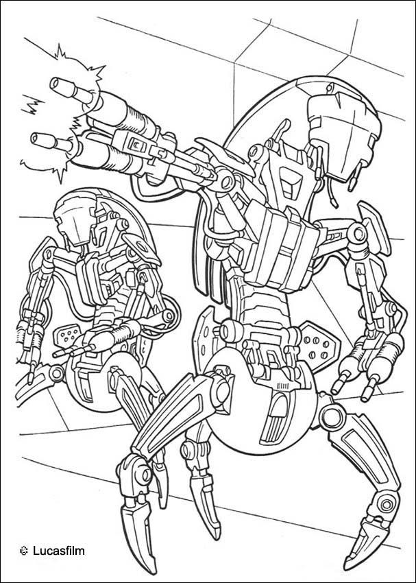 607x850 Star Wars Coloring Pages