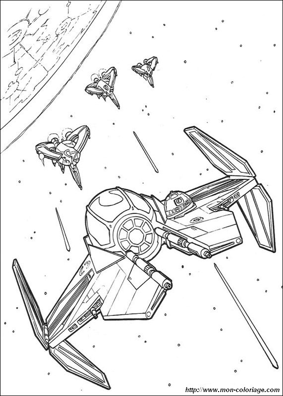 571x800 Coloring Star Wars, Page Battle In Space