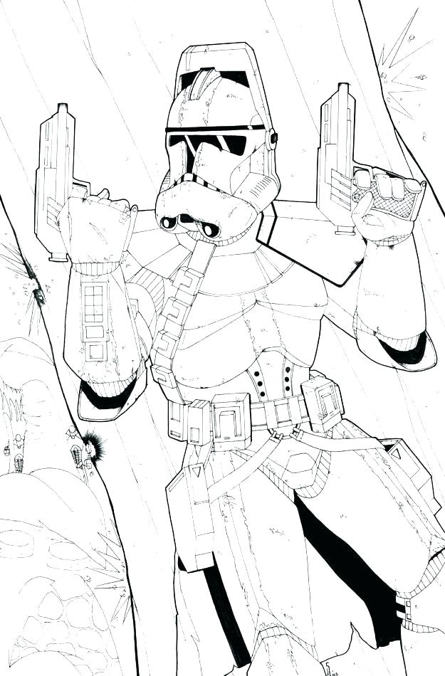625x950 Star Wars Clone Trooper Coloring Pages
