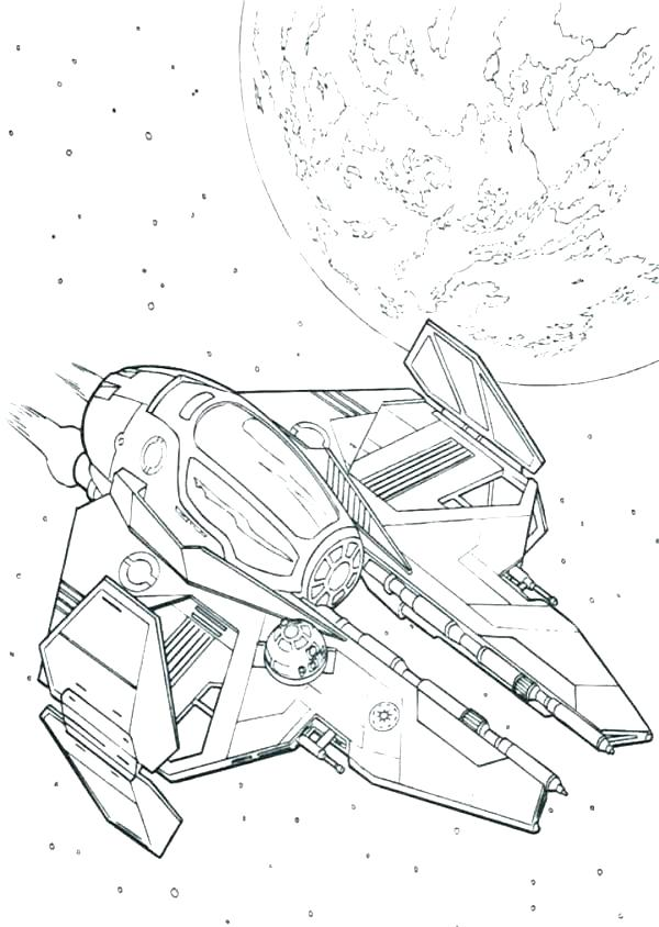 600x844 Star Wars Ships Coloring Pages