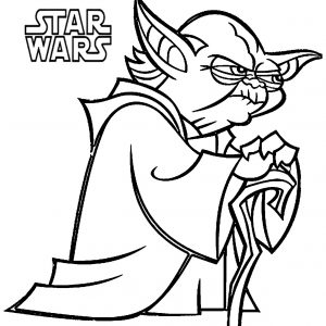 300x300 Star Wars Cartoon Characters Coloring Pages Archives