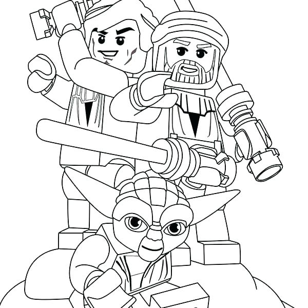600x600 Star Wars Cartoon Characters Coloring Pages Page Fuhrer Von