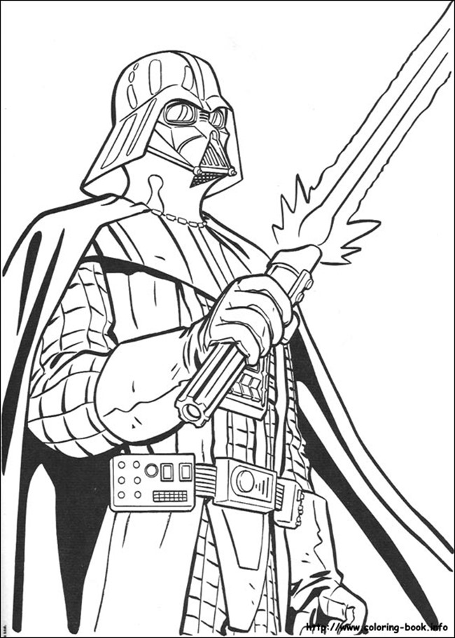 650x911 Star Wars Coloring Pages For Kids