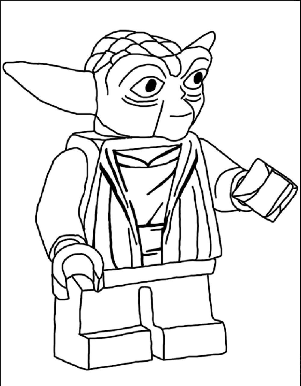 1000x1283 Star Wars Lego Coloring Pages