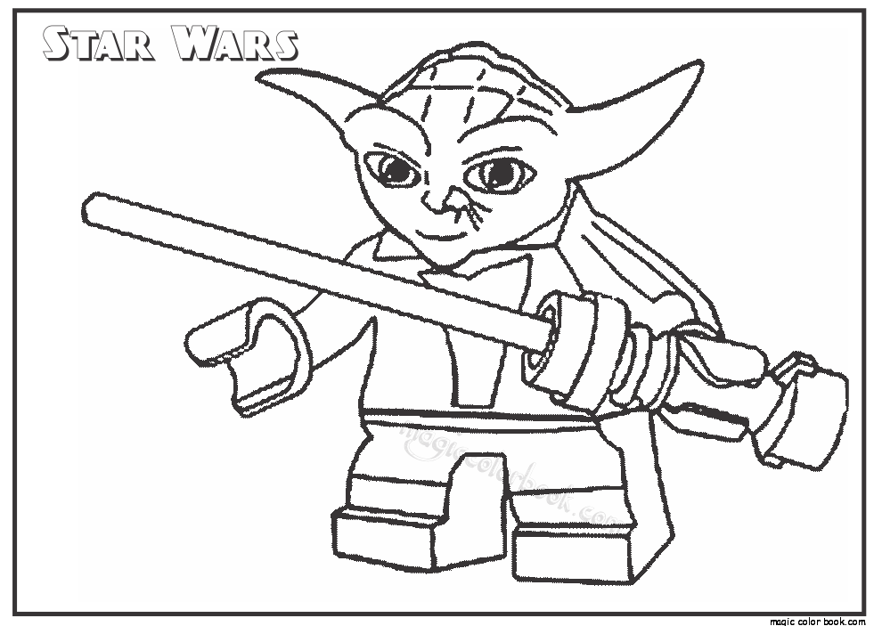 Star Wars Cartoon Characters Coloring Pages At Getdrawings Free Download