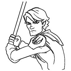 230x230 Top Free Printable Star Wars Coloring Pages Online Anakin