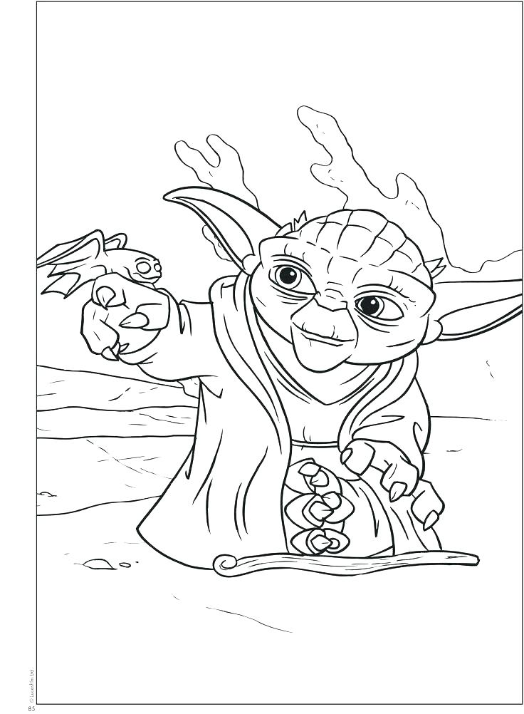 736x1002 Yoda Coloring Pictures Coloring Page Star Wars Coloring Pages