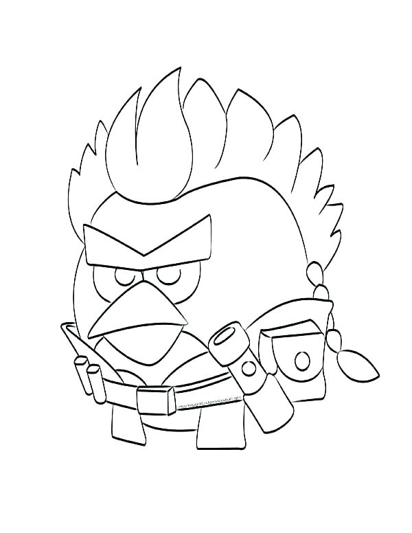 600x776 Coloring Pages Of Star Wars Star Wars Angry Birds Coloring Pages