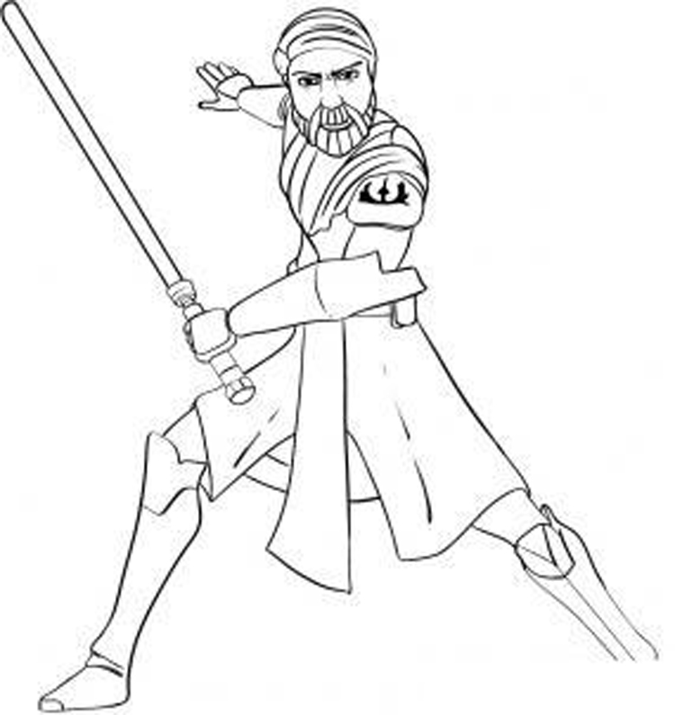 750x795 Free Star Wars Clone Wars Coloring Pages