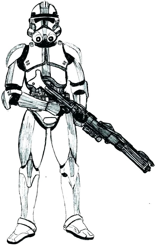 600x936 Clone Trooper Coloring Page Star Wars Clone Trooper Coloring Pages