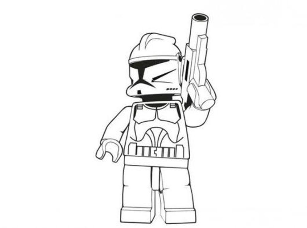 1000x745 Lego Star Wars Characters Coloring Pages Shop Toys
