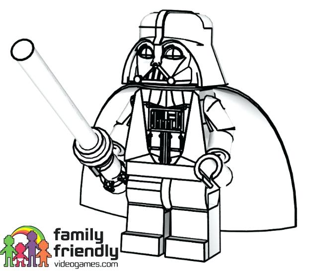 628x547 Lego Starwars Coloring Pages Star Wars Characters Coloring Page