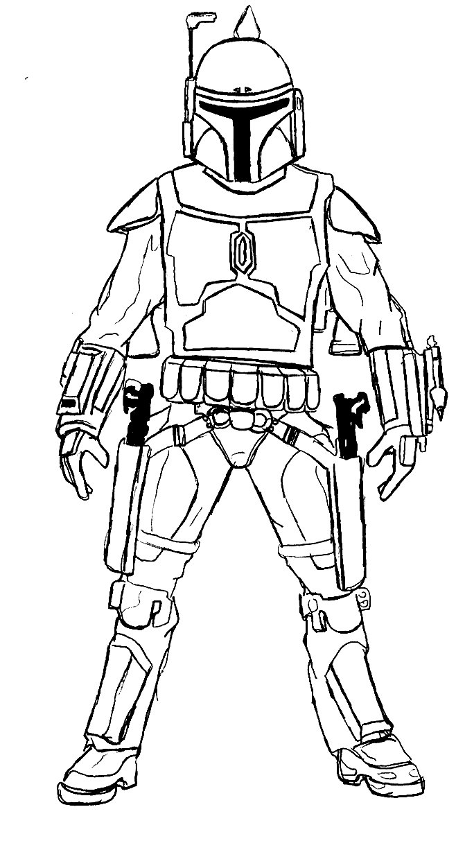 658x1213 Star Wars Coloring Pages And Book Color