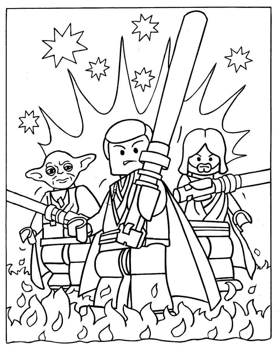 967x1200 Free Coloring Pages Star Wars Characters Many Interesting Cliparts