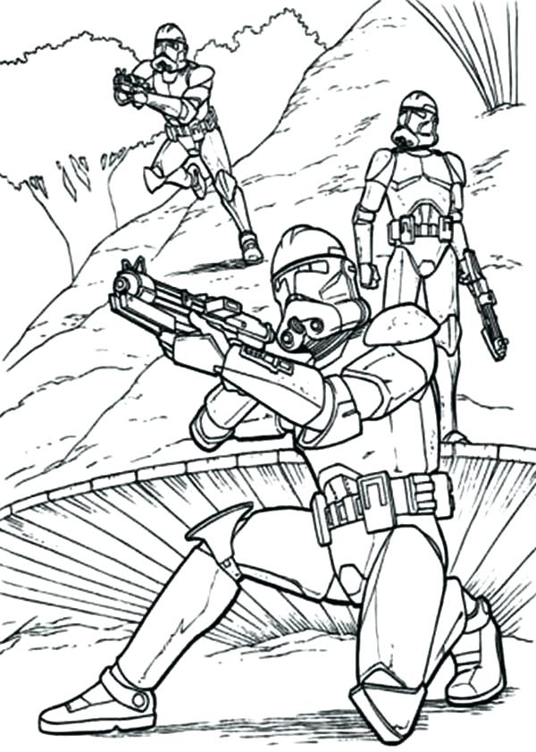 600x841 Clone Coloring Pages Star Wars The Clone Wars Coloring Pages Clone