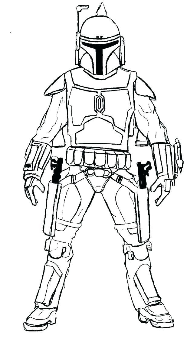 Star Wars Clone Trooper Drawing At Getdrawings Com Free For