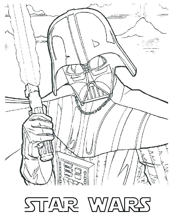 736x952 Clone Wars Coloring Pages Printable Clone Trooper Coloring Page