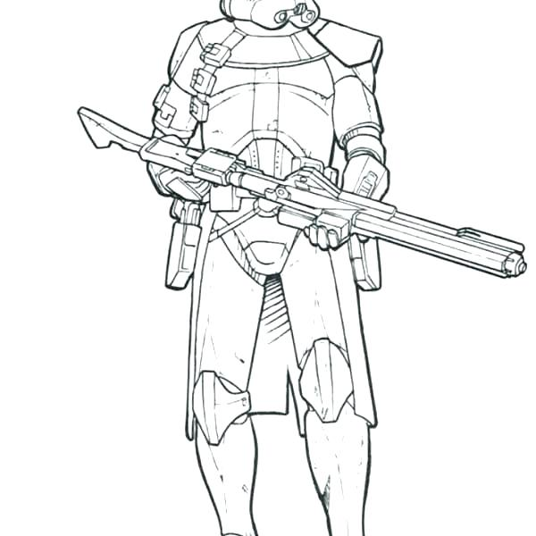 600x600 Star Wars Clone Coloring Pages Clone Trooper Coloring Pages Star