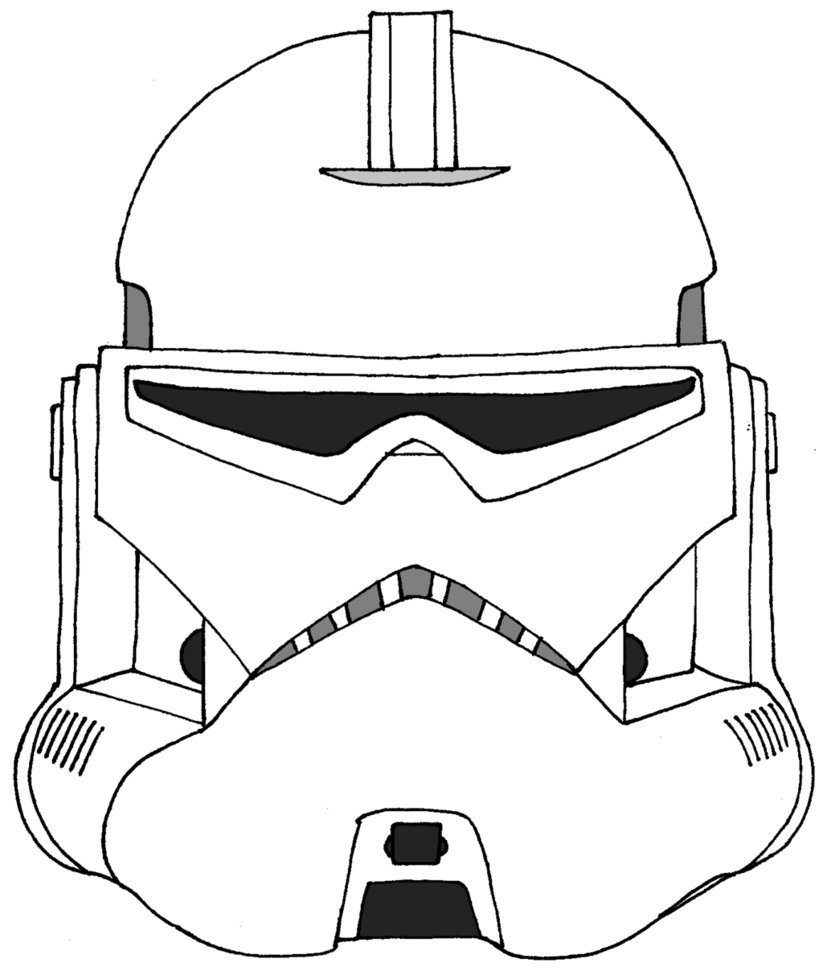 Star Wars Coloring Pages Clone Troopers At Getdrawings Com Free