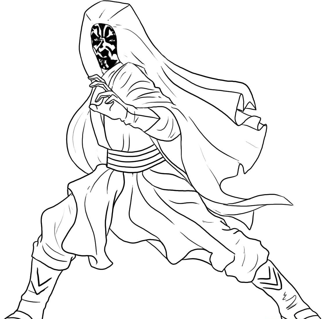 1109x1098 Star Wars Coloring Pages Printable Lineart Best