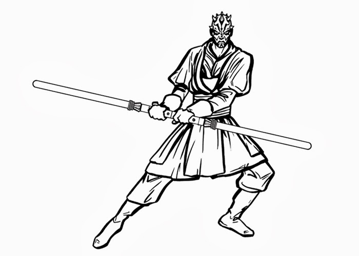 700x500 Star Wars Darth Maul Coloring Pages Coloring Pages Star Wars