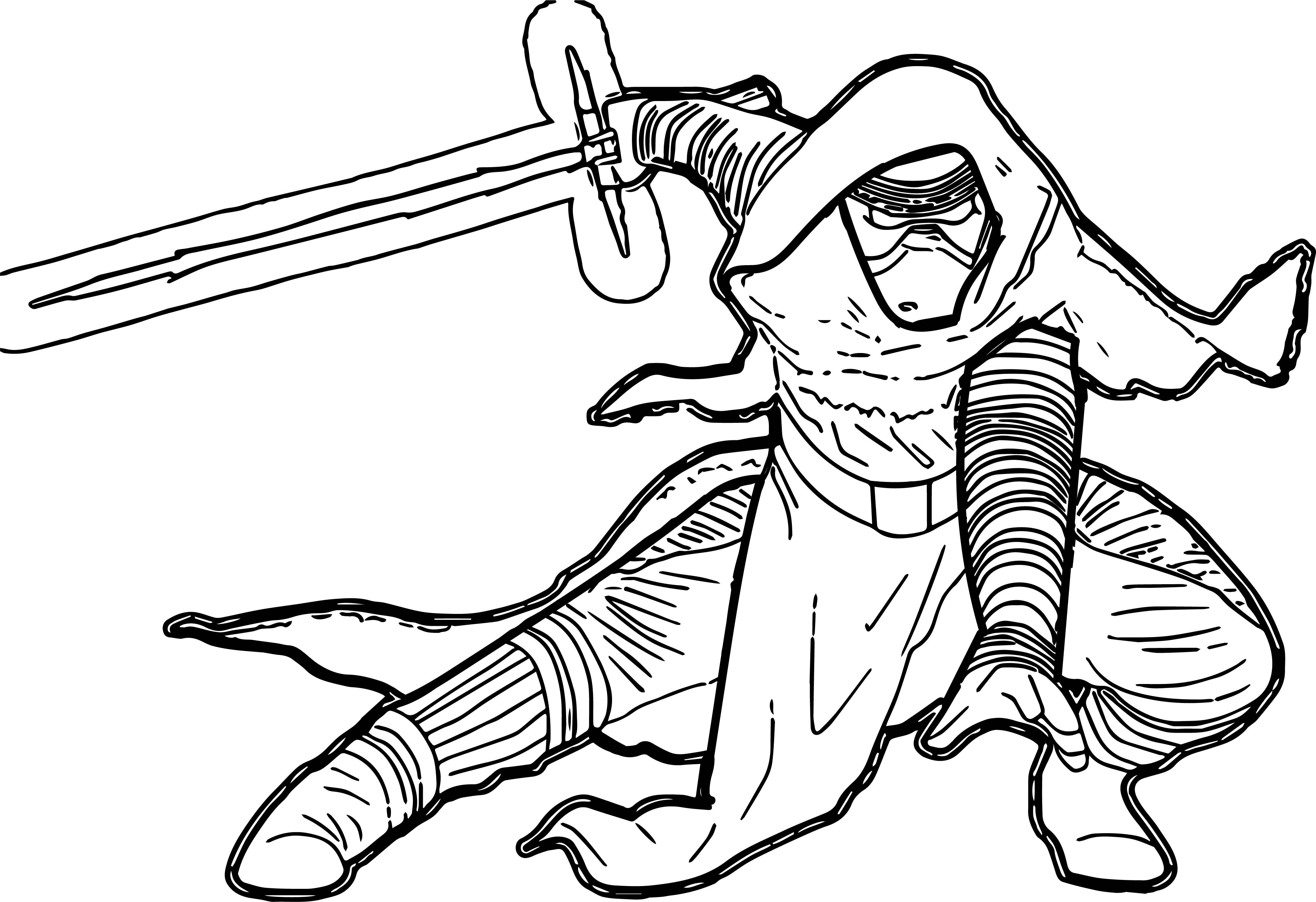 4296x2946 Coloring Page Star Wars Pages Darth Maul