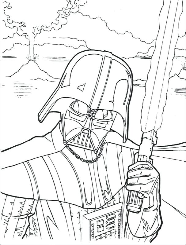 607x802 Darth Maul Coloring Pages Star Wars Coloring Pages Printable
