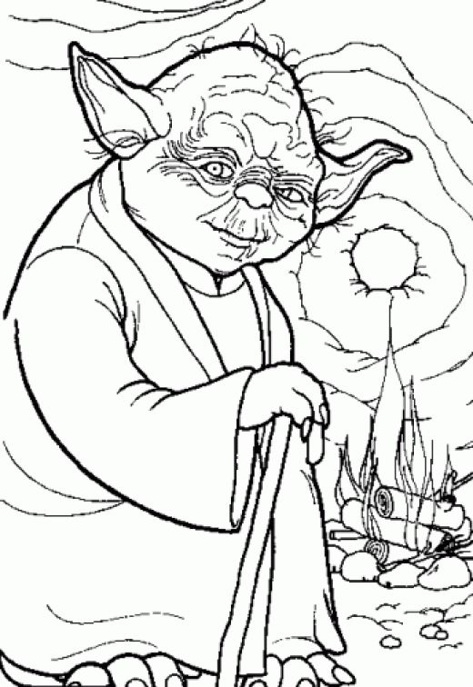 520x756 Star Wars Coloring Pages Dr Odd