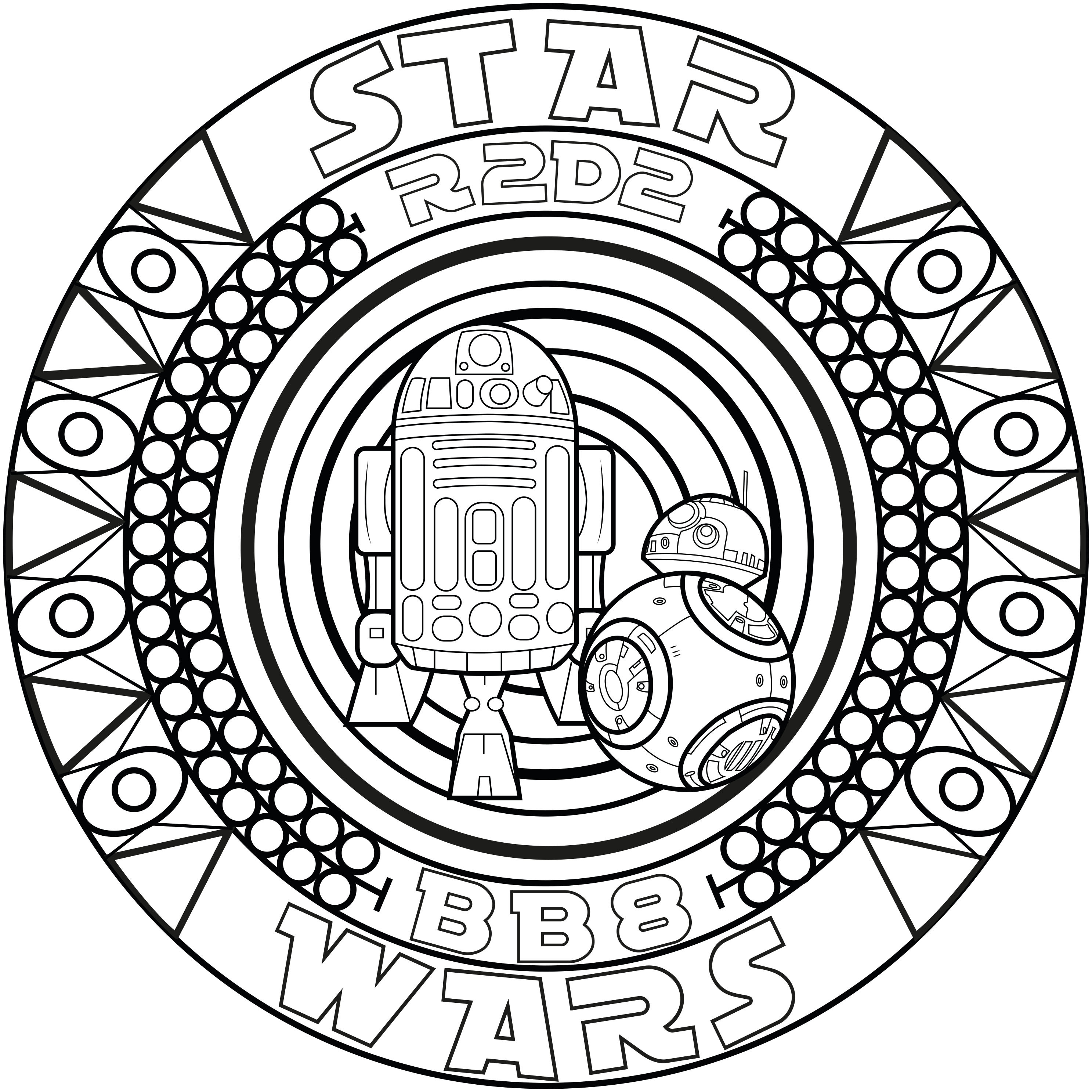 2974x2974 Star Wars Coloring Pages For Adults Justcolor Fine Adult Wagashiya