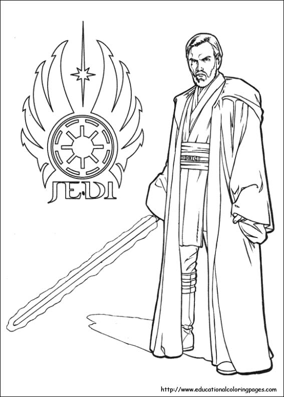 567x794 Star Wars Coloring Pages Free For Kids
