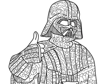 340x270 Star Wars Adult Coloring Pages Just Colorings
