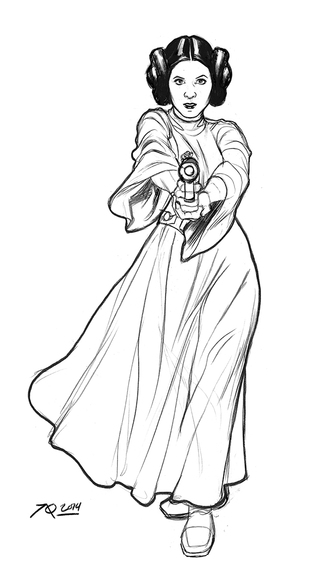 685x1193 Princess Leia Star Wars Coloring Pages Nice For Striking Leah