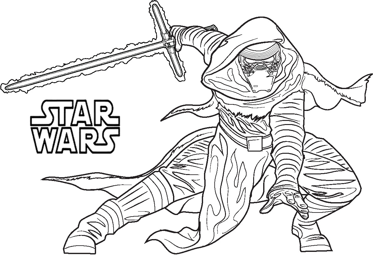 1192x816 Beautiful Top Star Wars Coloring Pages Line Free Free
