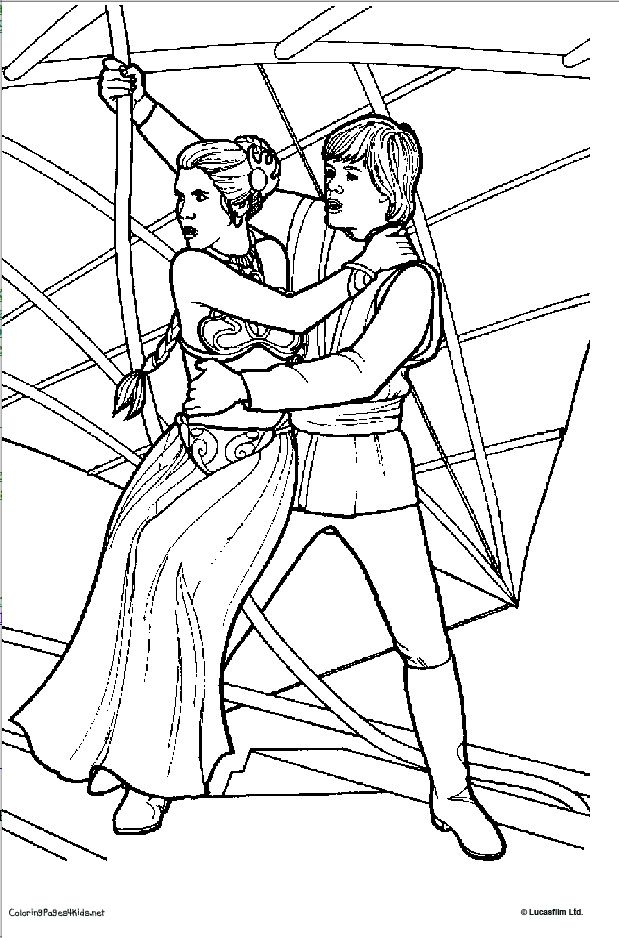 619x938 Star Wars Coloring Pages Princess Leia Coloring Pages