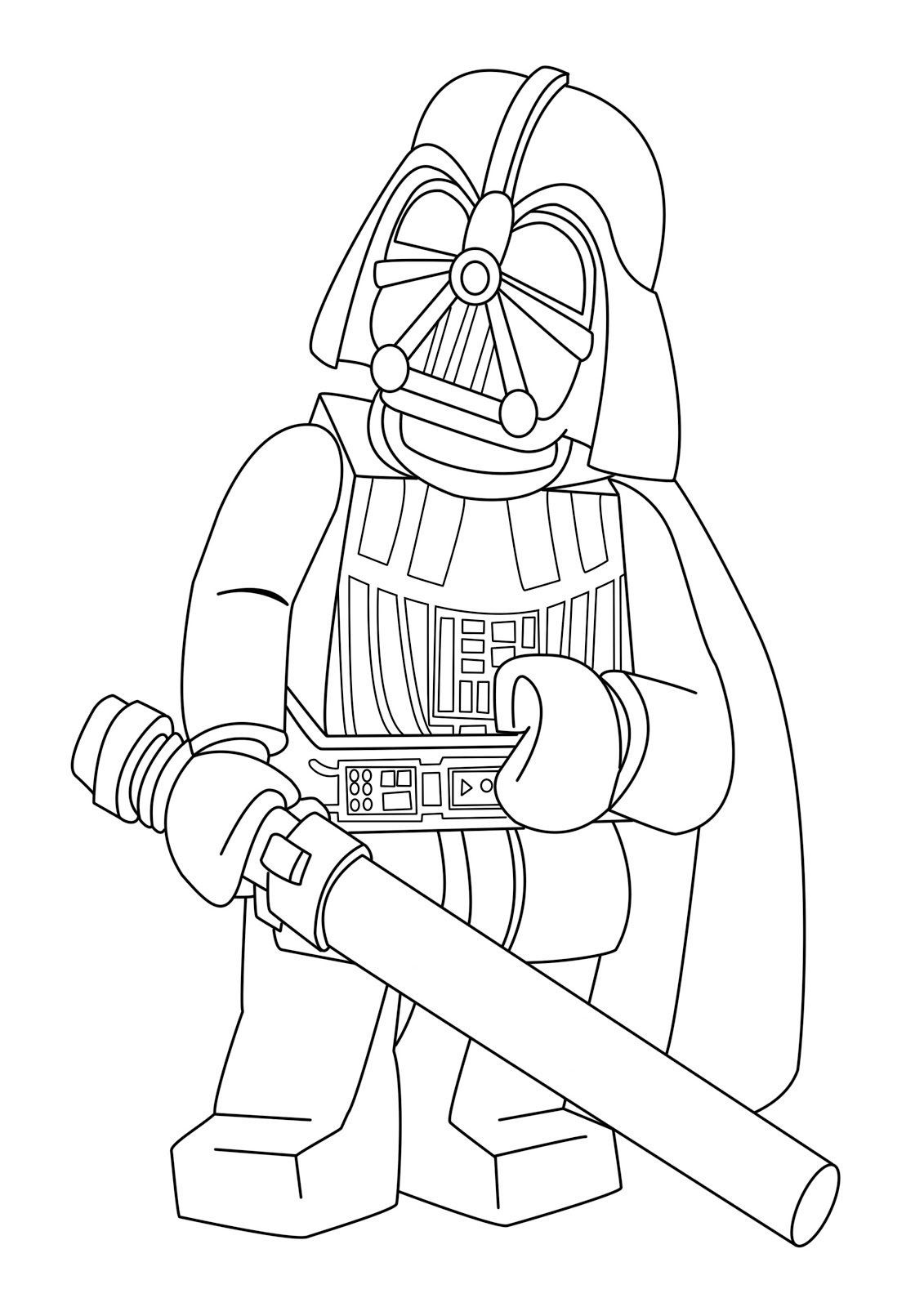 1131x1600 Lego Star Wars Coloring Pages Walzem Net Templates Best Leia