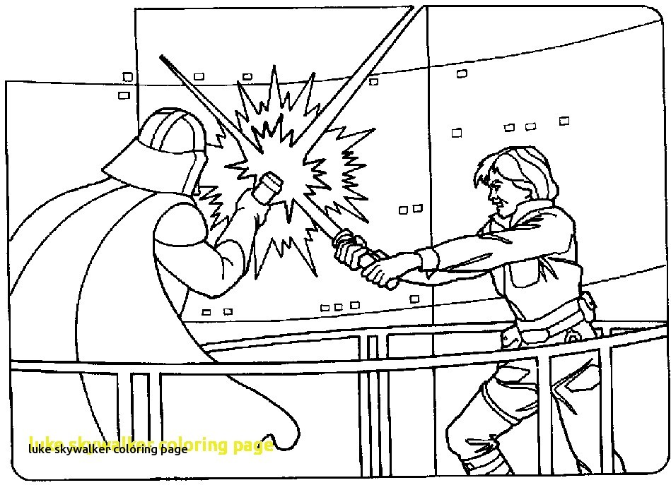 949x687 Luke Skywalker Coloring Page