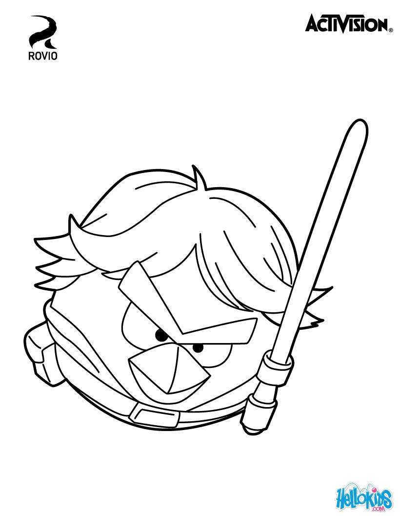 820x1060 Luke Skywalker Coloring Pages