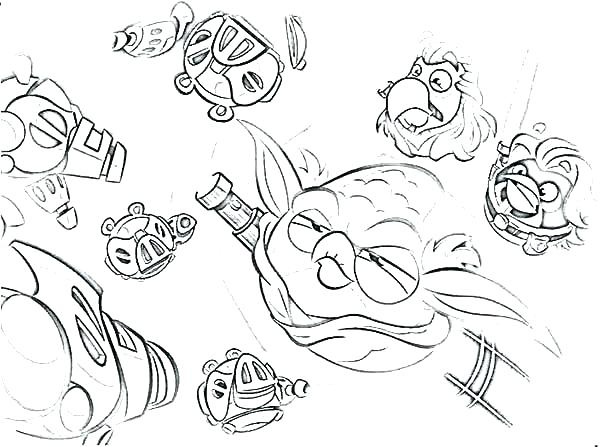 600x447 Coloring Pages Angry Birds Coloring Pages Angry Birds Star Wars