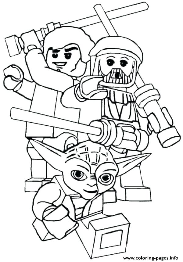 600x859 Starwars Coloring Pages Star Wars Printable Coloring Pages Lego