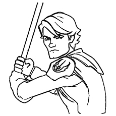 230x230 Top Free Printable Star Wars Coloring Pages Onli On Luke Skywalker