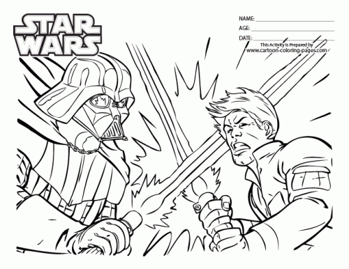 500x386 Full Size Coloring Pages Corresponsablesco Star Wars Coloring