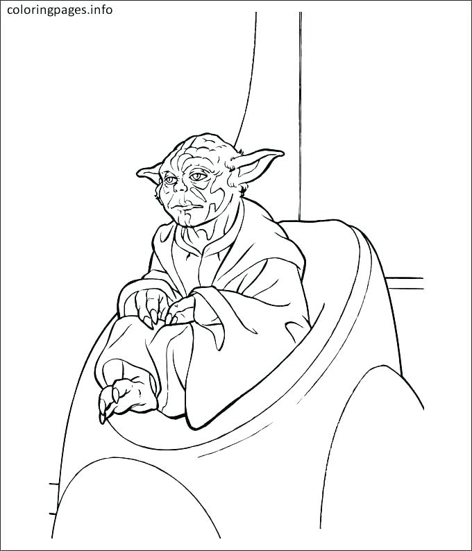 680x794 Star Wars Coloring Pages Luke Professional