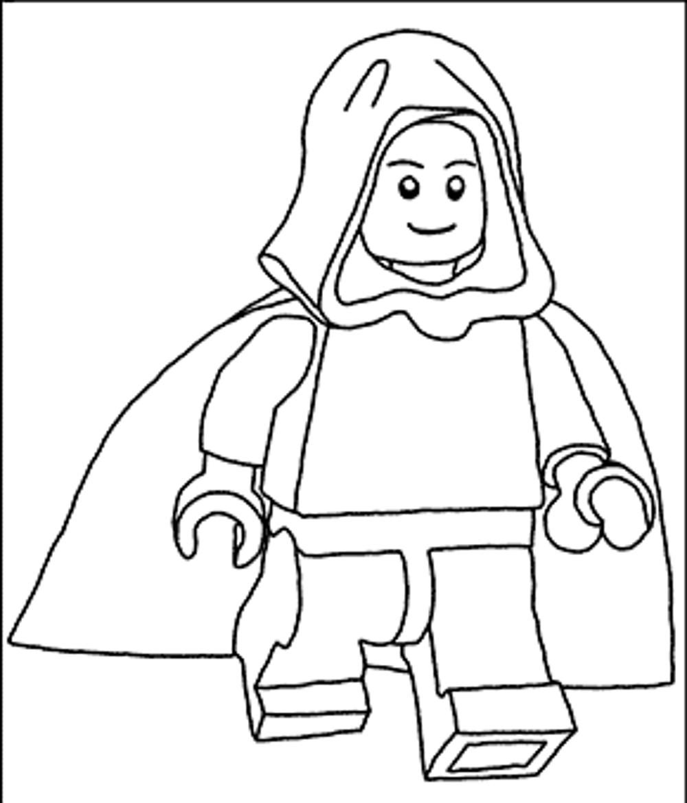 1000x1169 Lego Star Wars Coloring Pages Luke Free Coloring For Kids