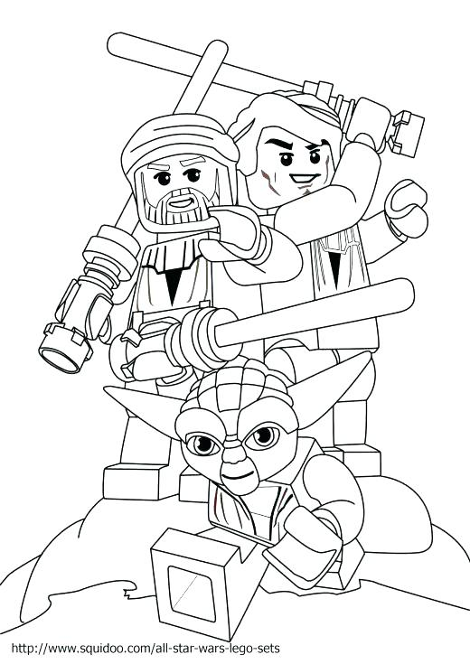 520x735 Lego Starwars Coloring Pages Star Wars Coloring Pages Free