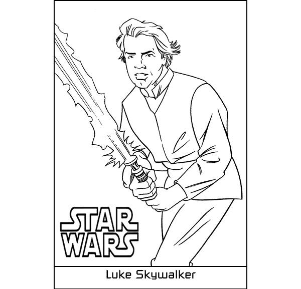 600x577 Luke Skywalker Coloring Page Inspirational Top Star Wars