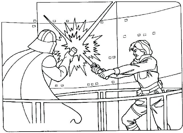 640x463 Coloring Pages Photographs Star Wars Coloring Coloring Pages Luke